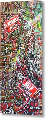 Voo Doo Economy Metal Print by Jay Lonewolf