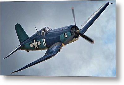 Vought F4u Corsair 2011 Chino Air Show Metal Print