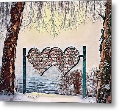 Metal Print featuring the digital art Vow Of Love by Pennie McCracken