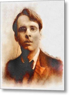 W. B. Yeats, Author And Poet Metal Print