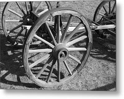 Wagon Metal Print by Perspective Imagery