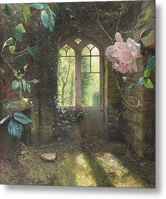Waiting For Love's First Kiss Metal Print by Helen Parsley