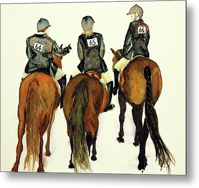 Waiting For Our Class Metal Print by Cheryl Dodd