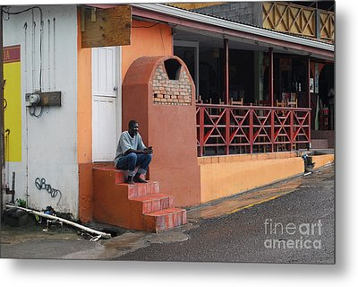 Metal Print featuring the photograph Waiting by Gary Wonning