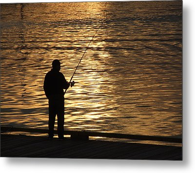 Metal Print featuring the photograph Waiting by Mark Alan Perry