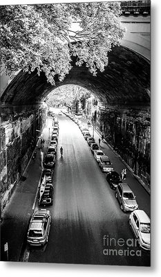 Metal Print featuring the photograph Walk The Tunnel by Perry Webster