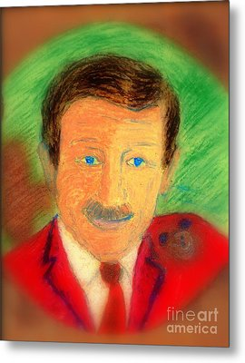 Walt Disney It's In The Ears Metal Print by Richard W Linford