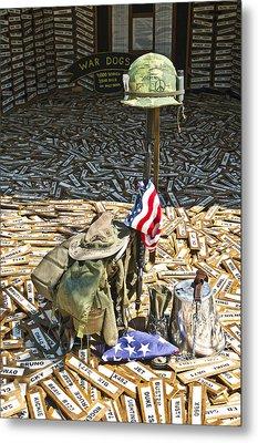 War Dogs Sacrifice Metal Print by Carolyn Marshall