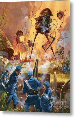 War Of The Worlds Metal Print