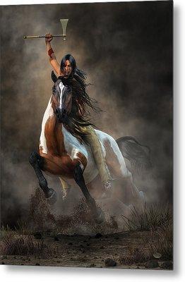 Warrior Metal Print by Daniel Eskridge