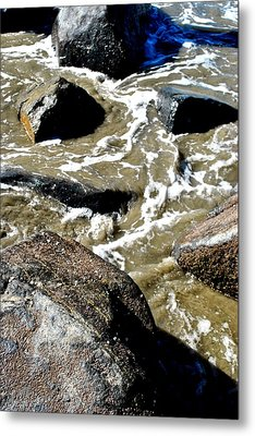 Metal Print featuring the photograph Wash Me Away by Amanda Eberly-Kudamik