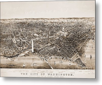 Washington D.c., 1892 Metal Print by Granger