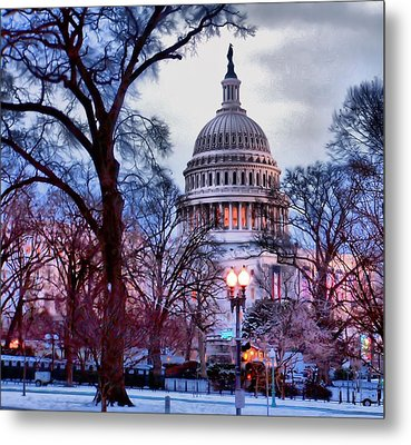 Washington D.c. One Metal Print by Jimmy Ostgard