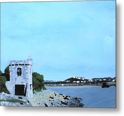 Watchtower Bay Metal Print