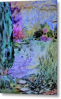 Water Fairy Metal Print by Mindy Newman