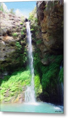Waterfall 2 Metal Print by Jeffrey Kolker