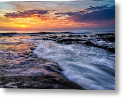 Wave Metal Print by Doug Oglesby