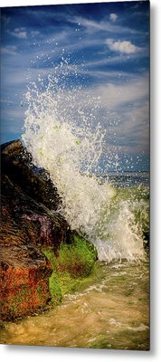 Waves Metal Print by David Hahn