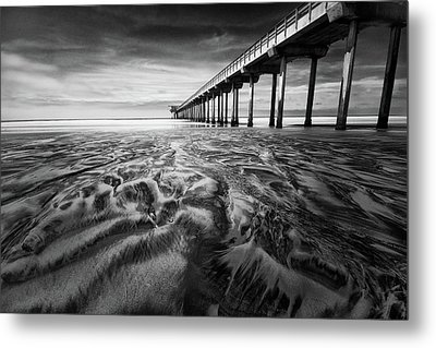 Waves Of Sand Metal Print by Ryan Weddle
