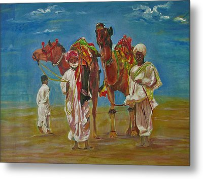 Way Of Life Metal Print by Khalid Saeed