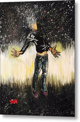 We Are All Stardust Metal Print by Mel Dawdy