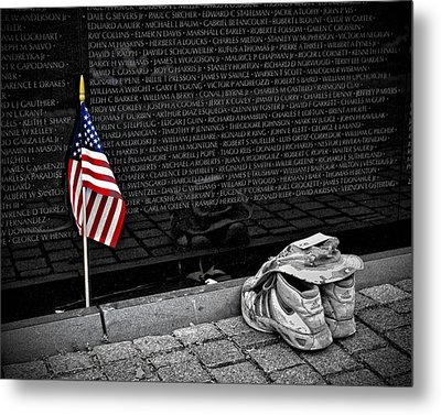 We Will Never Forget Them... Metal Print by Boyd Alexander
