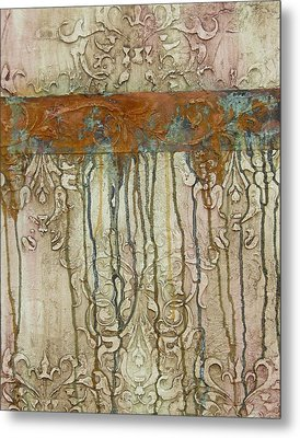 Weathered Metal Print by Chris Brandley