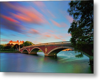 Weeks' Bridge Metal Print by Rick Berk
