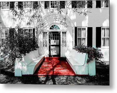 Metal Print featuring the photograph Welcome by Greg Fortier