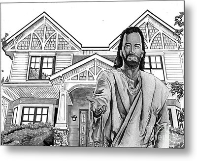 Welcome Home Metal Print by Bill Richards