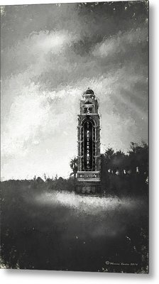 Welcome To St. Petersburg Metal Print by Marvin Spates
