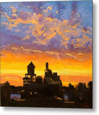 Westside Sunset No. 1 Metal Print