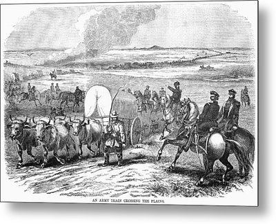 Westward Expansion, 1858 Metal Print