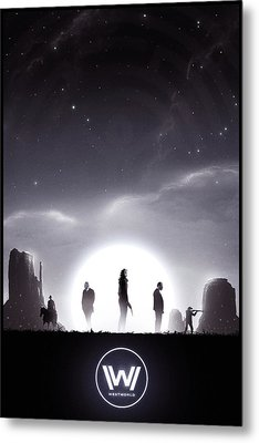 Westworld Metal Print by Colin Morella