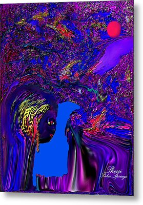 Metal Print featuring the digital art What Planet Are You Going To by Sherri  Of Palm Springs
