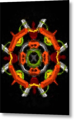 Metal Print featuring the digital art Whatever by Shelley Bain