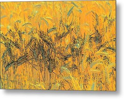 Wheatscape 6343 Metal Print