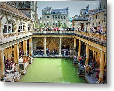 Metal Print featuring the photograph When In Rome by Wallaroo Images