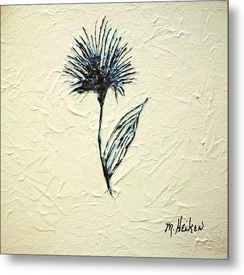 Whimsical Flower Metal Print by Marsha Heiken