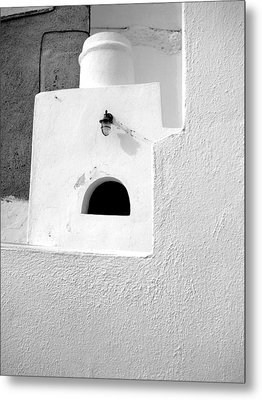 Metal Print featuring the photograph White Abstract by Ana Maria Edulescu