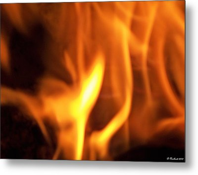 Metal Print featuring the photograph White Hot by Betty Northcutt