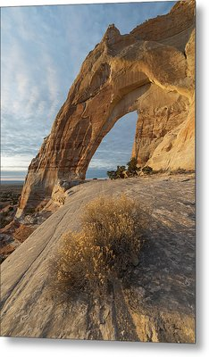 Metal Print featuring the photograph White Mesa Arch by Dustin LeFevre