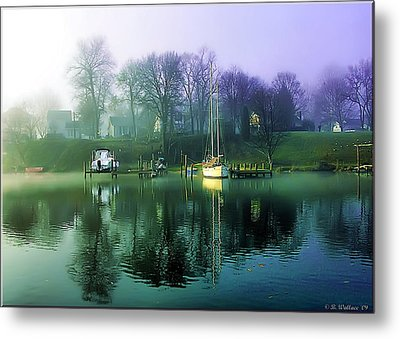 Metal Print featuring the photograph White's Cove Awakening by Brian Wallace