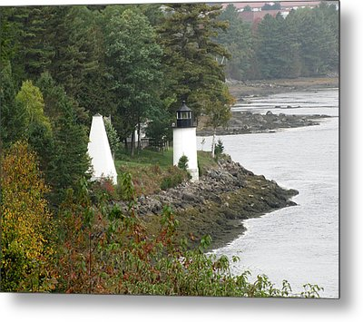 Whitlock Mill Lighthouse Metal Print by George Jones