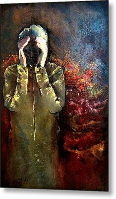 Willful Amnesia Metal Print by Shadia Derbyshire