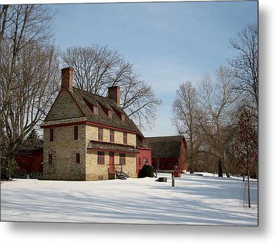 William Brinton House 1704 Metal Print by Gordon Beck