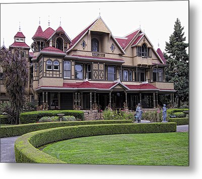 Winchester Mystery House Metal Print by Daniel Hagerman