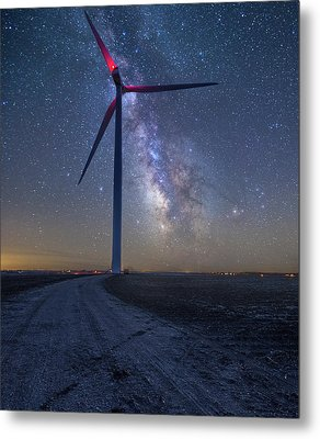 Metal Print featuring the photograph Wind  by Aaron J Groen