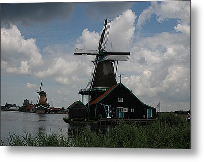 Windmill 3 Metal Print by Vilas Malankar