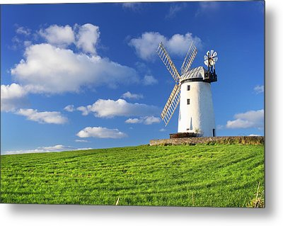 Windmill Metal Print